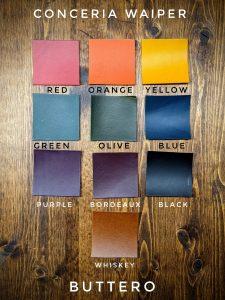 Buttero Colour Options